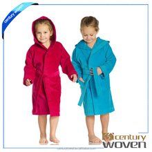 Eco-friendly dyed healthy for your body wholesale 100% cotton children bathrobe
