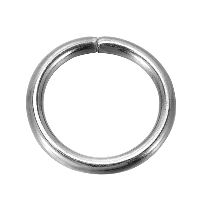 Jewelry Findings Stainless Steel Open Jump Rings 10mm