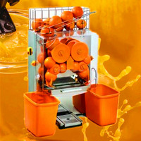 new type 20 Orange/min Restaurant Commercial Orange Juice Extractor machine for export