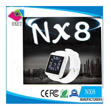 "Cheapest Bluetooth Watch NX8 Smart Bluetooth Sports Health Watch 1.44"" Screen Lithium Battery Phone Call and Music"