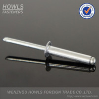 High quality close end blind rivet DIN7337 metal rivet
