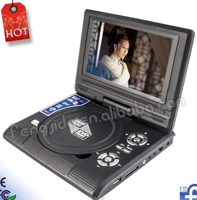 factory price 7 inch portable DVD