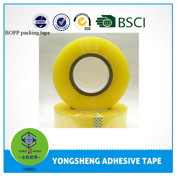 2015 color adhesive light packaging transparent tape