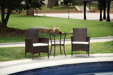 Best selling in Russia outdoor wicker furniture