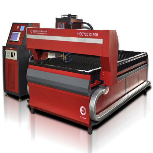 Flat Bed Metal Laser Drilling Machine