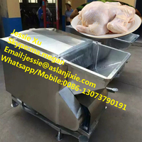 High efficiency stainless steel poultry quail duck goose chicken plucking machine/chicken feather plucker