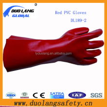 Gauntlet PVC Coated Gloves sand blast gloves