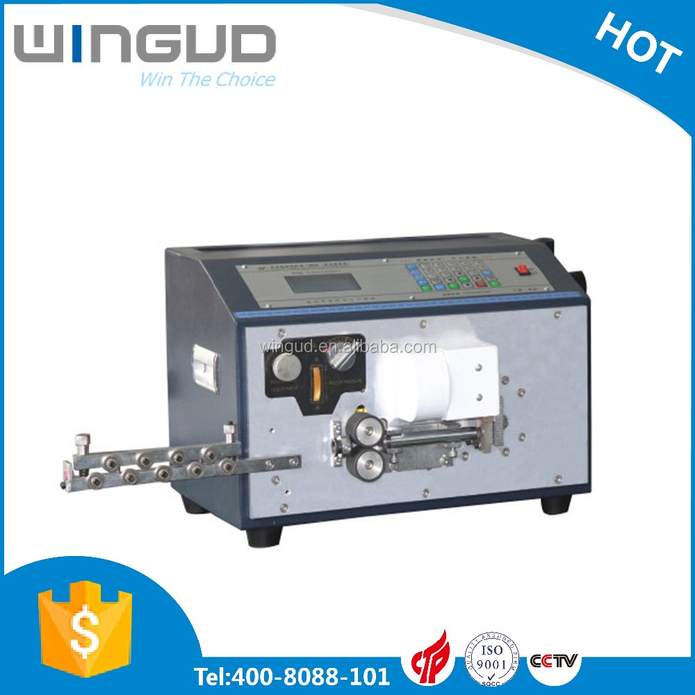 Automatic Cable Wire Cutting and Stripping Machine, Cable Wire Bending Machine WG-806