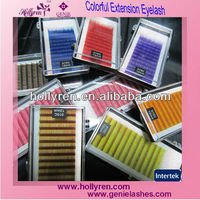color flare eyelashes, New fashion belle eyelash extension mascara