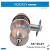 Stainless Steel Tubular Knob Lock 587