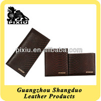 Leading Supply Casual Genuine Snake Leather Men's Wallets