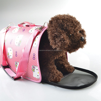 Wholesale Convenient Pet Dog Travel Carrier Handle Bag PT057