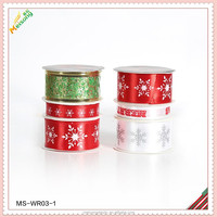 woven fabric ribbon for gift ribbon and bow