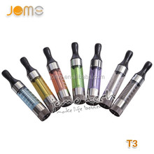 Bottom heating coil t3 clearomizer Jomotech unitank tumbler tank with bottom coil cartomizer for ego with huge vapor