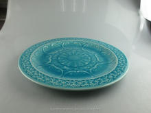 Blue Antique Chinese Porcelain Plates Stock Cheap Blue glazed Plate