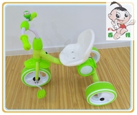 Hot sale foot power car children tricycle toy with music and colorful light for best quality and low price
