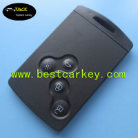 Topbest high quality smart key fob case for Koleos 4 buttons smart key