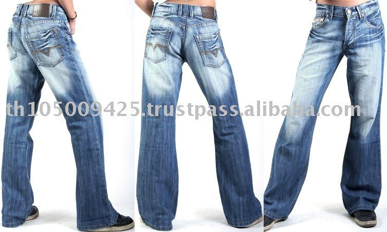 Mens Designer Bootcut Jeans