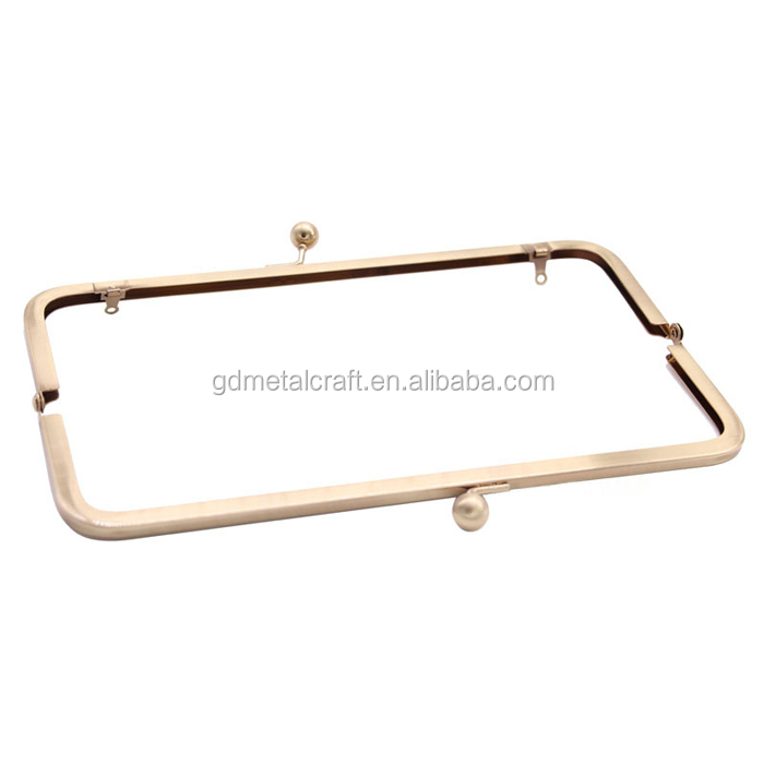 Wholesale Purse Frame 160 mm Clutch Bag Frame Kiss Clasps