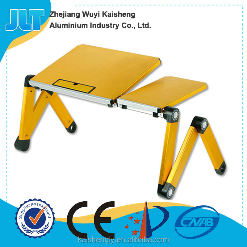 Adjustable angle laptop stand computer table models with mouse pad and drawer