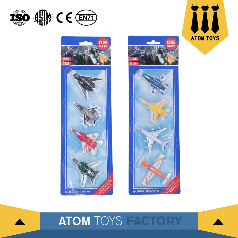 wholesale mini gift set scale model diecast metal airplane toy from china