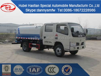 Dongfeng DFA double cab new watering truck mini water tanker truck small water sprinkler truck for sale