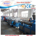 1220mm WPC construction template production machine