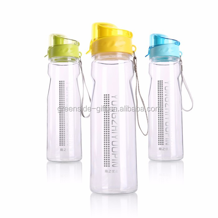 700ml New arrival customized logo clear sports plastic water bottle
