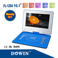 Portable DVD Player With USB Interface And SD/MMC Card Slot manufacture wholesale OEM nice quality USB TV GAME SD FM RADIO home