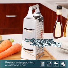 Boxed Stainless Steel Multi Function Kitchen Grater /4-Sided Vegetable Grater