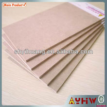 2.5-40mm plan mdf wood in high quality E0/E1/E2/CARB P2