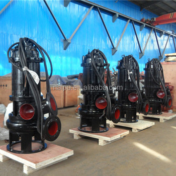 Subersible sand and gravel slurry pumps for river