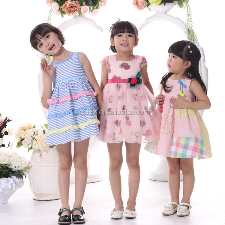 New Fashion Angel Style Baby Girl Party Dress Children