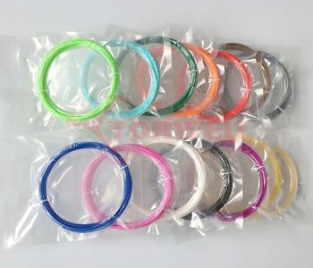 1.75mm ABS & PLA 3D pen filament refill pack 5 meters for each color