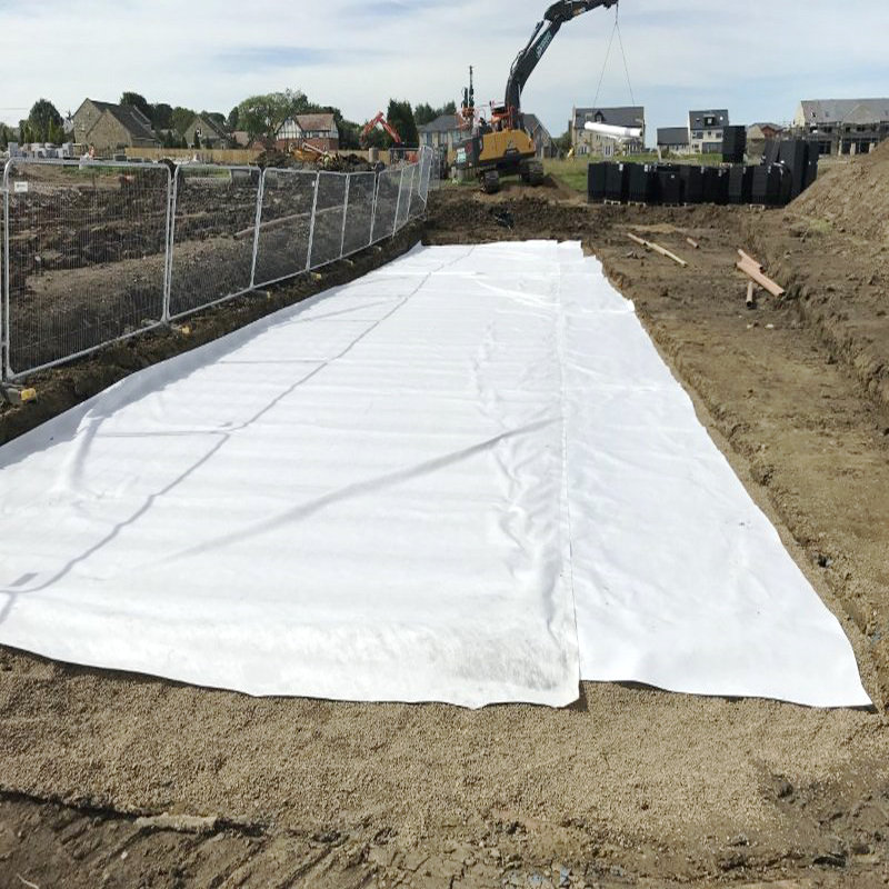 Road Building Fabric Non Woven Geotextile Best Price Per m2