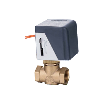 3-way electric motorized valve on/off type 1/2'' to 2'' automatic control