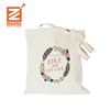 Customized Fashion Style Promotion Cotton muslin Fabric shopping Handbag organic natural canvas tote Cotton bag