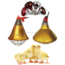 Waterproof infrared heating lamp for poultry and pig farm