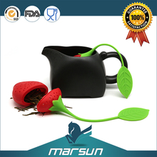Low Price 2016 New Product Premium Silicone Reusable Tea Bag Infuser Strainer