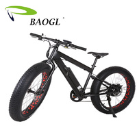 2017 Top Quality Hot Selling Fat Tire E Road Electric Bike