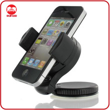 Mini 360 Degree Windshield Stand Universal Mobile Phone Car Mount Holder Bracket For iPhone 5/4 Samsung Phones GPS PSP