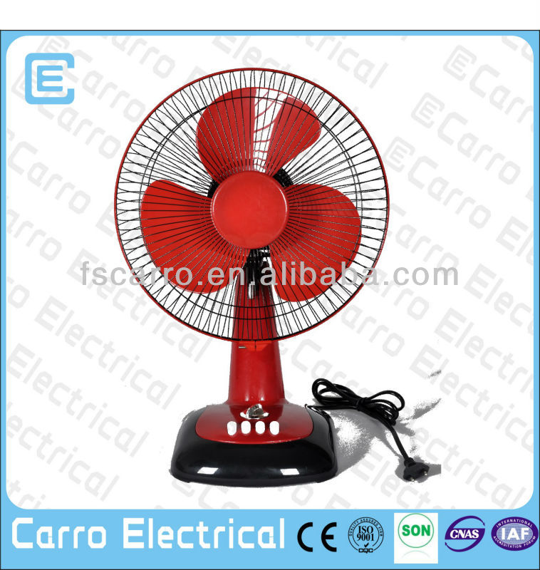Solar outdoor portable fan low power DC-12V12G