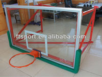 basketball ring and board