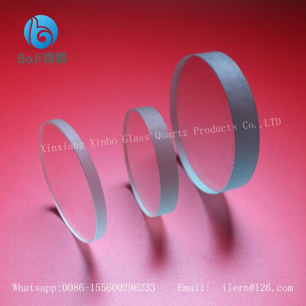 air colored circle float glass