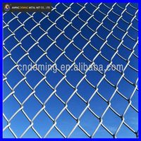Dog garden fence chain link wire mesh fence clamps or panels top barbed wire manufacturer with good price for europe market for