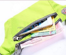 Running Belt Adjustable Waist Pack Zipper Pockets Bag Waterproof Runners Fanny Packs for Mobile Phone