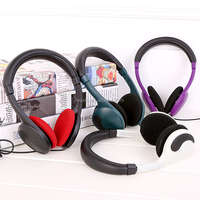 Hot Wired Headphone factory professional manufacturer produce airline headphone with 3.5mm stereo plug