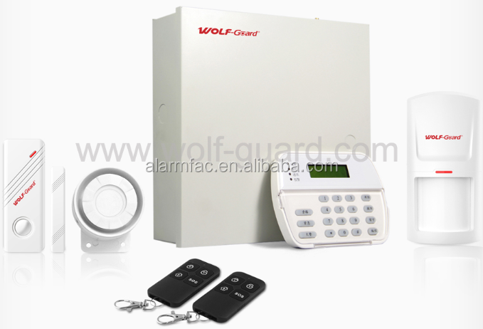 IP / TCP GSM Wireless Home Burglar Security Alarm System