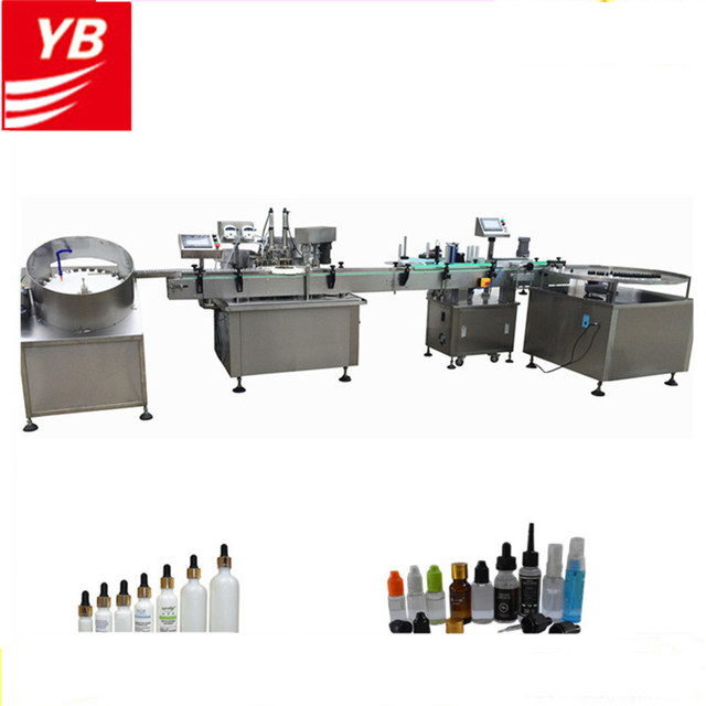 Automatic Smoking Oil Liquid 2 Head Filling Capping Packing Machine