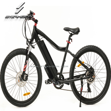 Light weight aluminum alloy frame electric mountain bike 26x2.125 tire e road electric bike with hidden battery disc brake